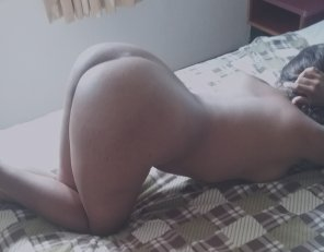 amateur photo Ass up