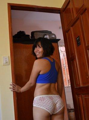 amateur photo Cotton Panties