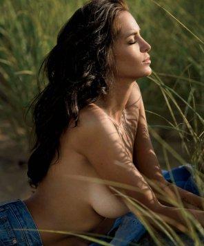 amateur photo Jade Lagardère - Belgian model