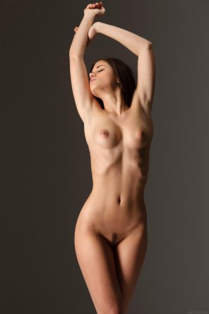 amateur photo Stretching
