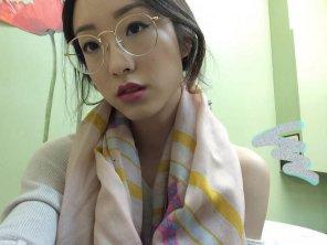 amateur photo Round Glasses