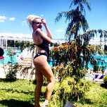 amateur photo Hot blonde in bikini