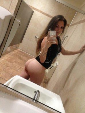 amateur photo Public Bathroom