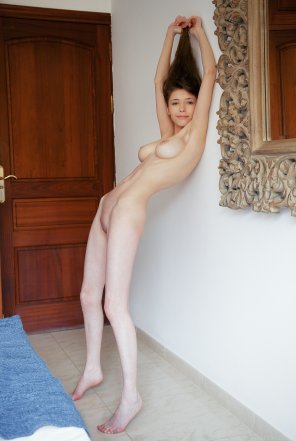 amateur photo Mila Azul is amazing