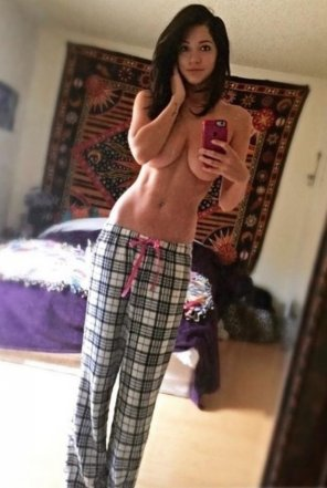 amateur photo Nice pajamas