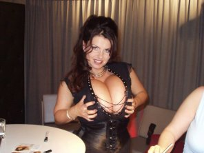 amateur photo Milena at the 2004 Venus Berlin Fair