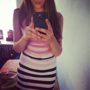 amateur photo my new little dress