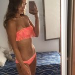 amateur photo In her holiday bikini