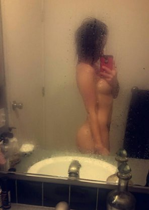 amateur photo Out of the shower