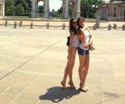 amateur photo Serbian twins