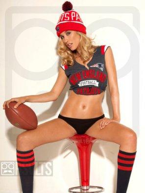 amateur photo Patriots fan