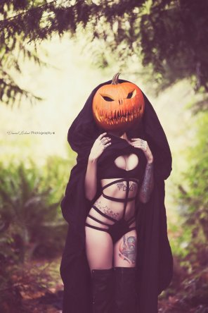 amateur photo Pumpkin queen