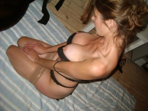 amateur photo Meditating MILF