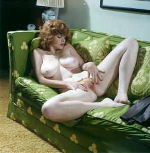 amateur photo Lisa De Leeuw classic vintage ginger