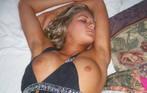 amateur photo Sleeping beauty