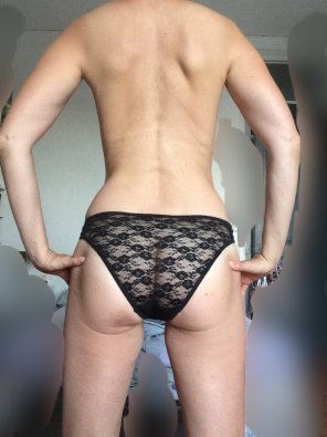 amateur photo View from behind?