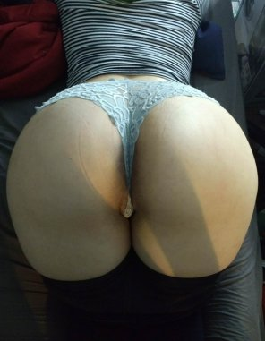 amateur photo Panties stretched thin