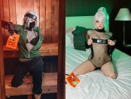 [Self] Female Kakashi - On and Off by Ri Care