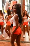 amateur photo Hooters try-outs