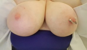 amateur photo How I manage to hide these under my uni[f]orm I'll never know!