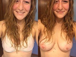 amateur photo Pierced Nipples