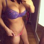 amateur photo Underwear selfie