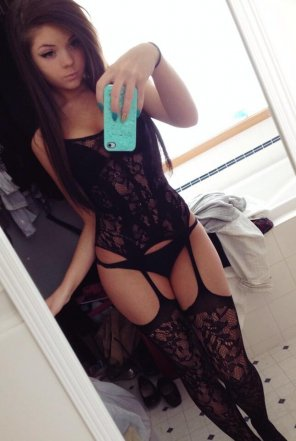 amateur photo Danni meow lingerie. Yes please.