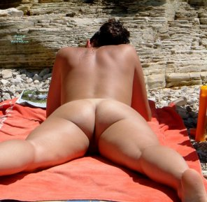 amateur photo beach ass