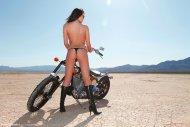 Peta Todd in the desert