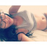 amateur photo Lying in bed