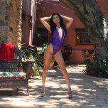 amateur photo Veronica Rodriguez - Purple Lace