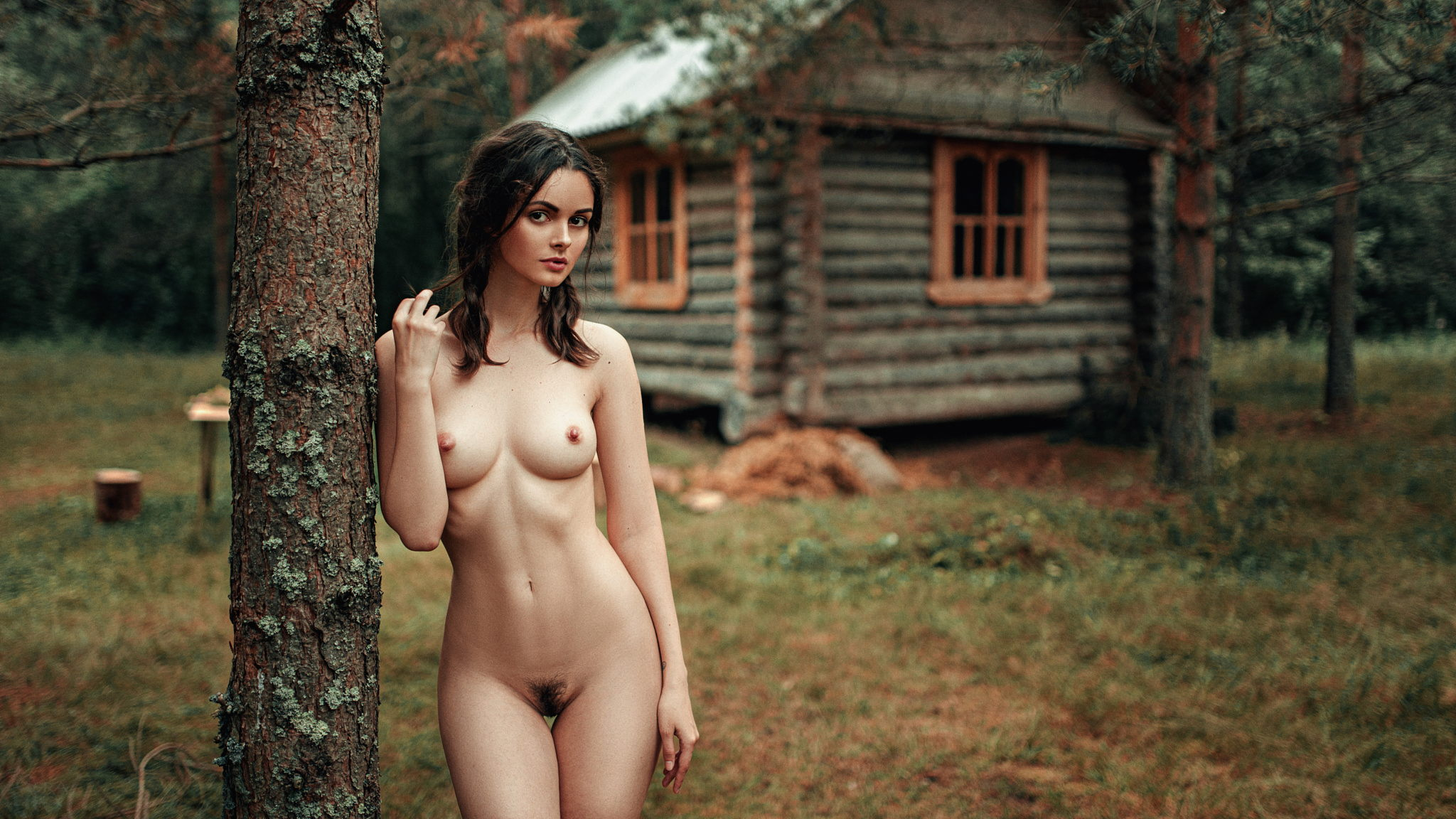 Big tits woods cabin Cabin In The Woods Porn Pic Eporner