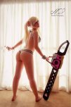 amateur photo Lollypop Chainsaw cosplay ass