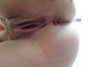 amateur photo [F]reshly shaven