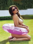 amateur photo Lucy Pinder in the sun