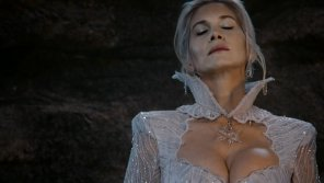 amateur photo Elizabeth Mitchell as the Snow Queen in Once Upon a Time