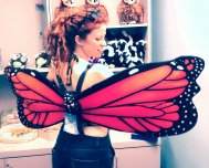 Am I a pretty butterfly?