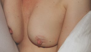 amateur photo My big nipples