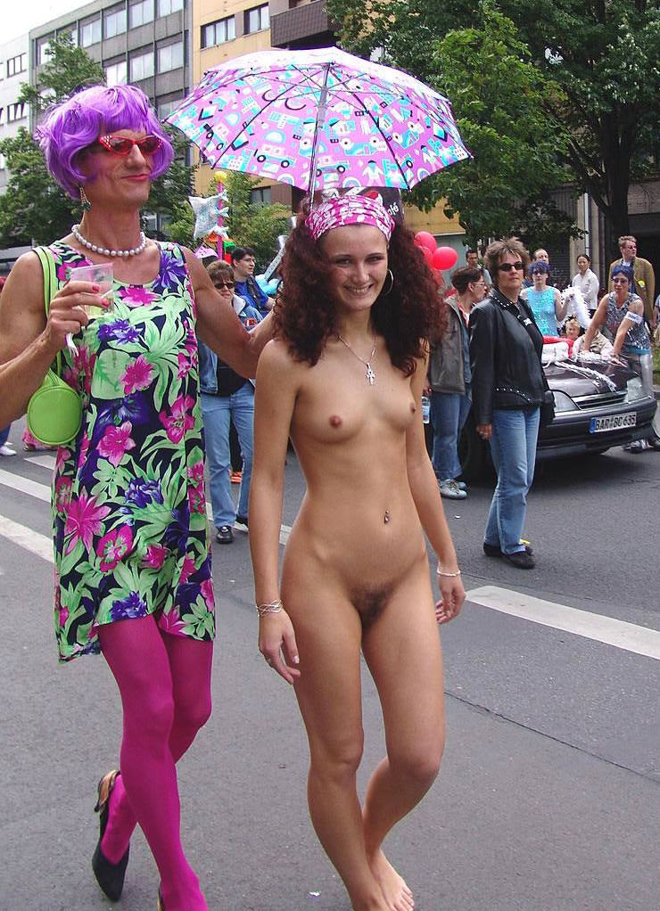 gay parade porno