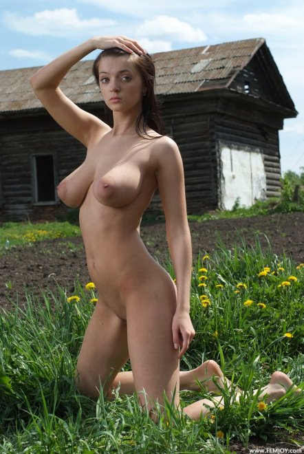 Slender with big boobs Porn Photo