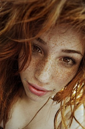amateur photo Freckles