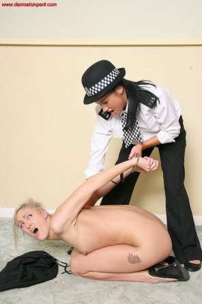 amateur photo Naked Arrest
