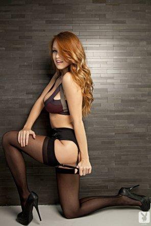 amateur photo Leanna's lovely lingerie