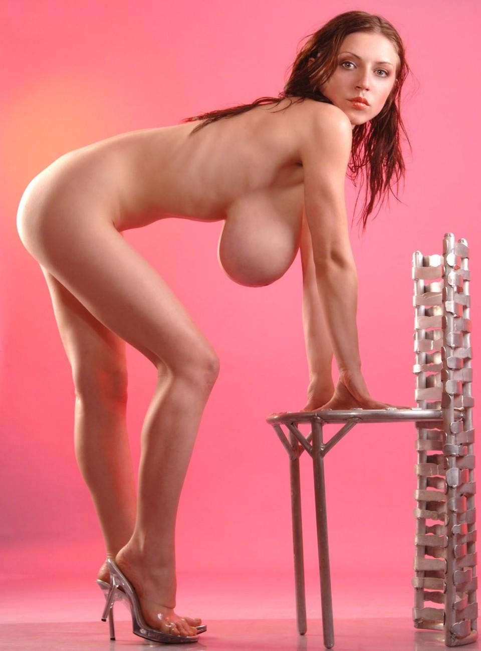 Redhead Big Tits Masturbating