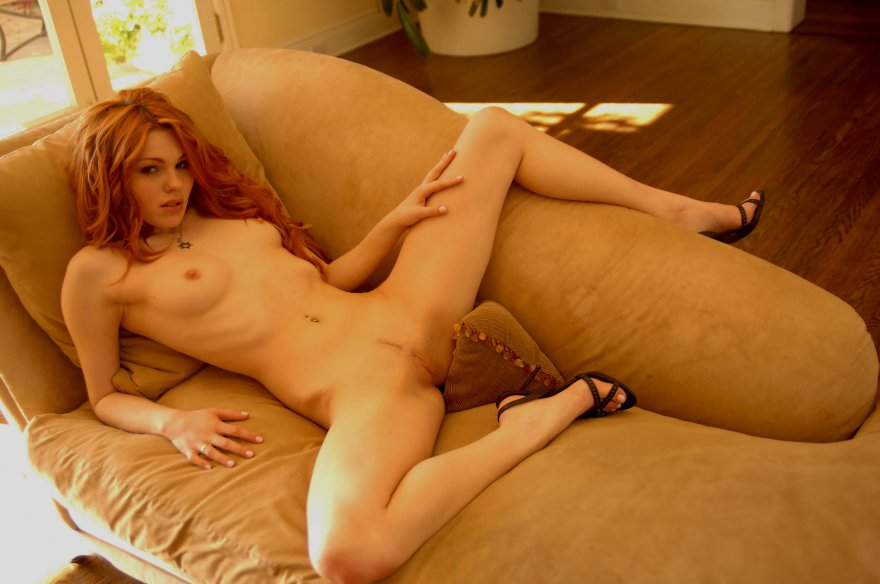 Gorgeous Jewish Redhead Porn Photo