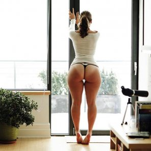 amateur photo At the Window