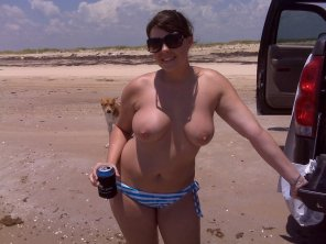 amateur photo Nude beach tailgating