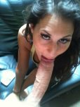 amateur photo in mouth