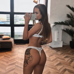 amateur photo Sexy Teen in a Thong