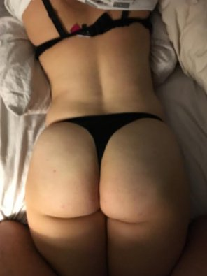 amateur photo My wife's big ass